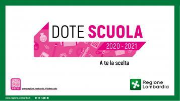 dote scuola 2020