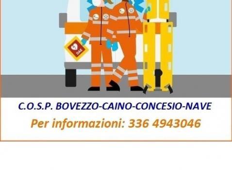 SERVIZIO CIVILE UNIVERSALE - C.O.S.P. BOVEZZO-CAINO-CONCESIO-NAVE